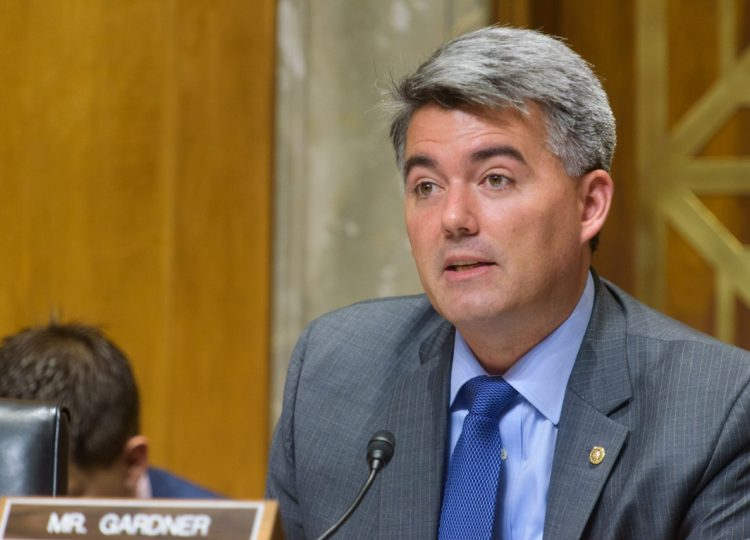 U.S. Sen. Cory Gardner (R-Colo.)